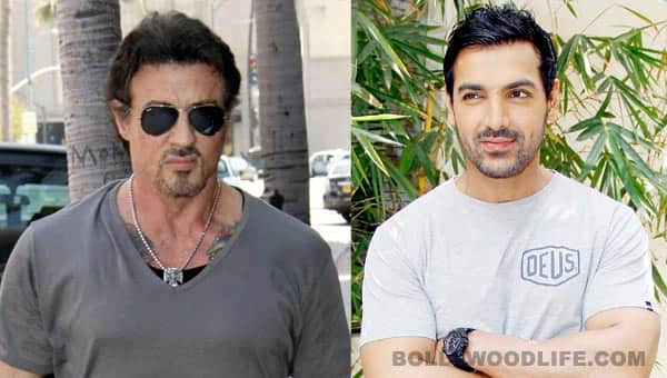 Sylvester Stallone says John Abraham is better built than he ever was!