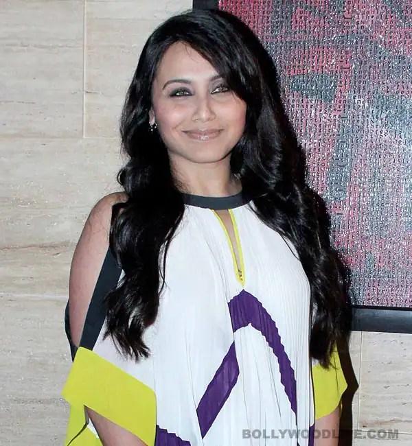 Did Rani Mukerji's high-handed behaviour lose her the Mary Kombiopic?