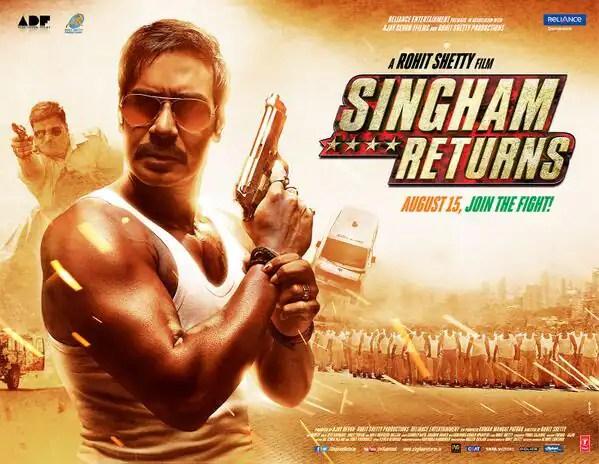Poster do filme Singham