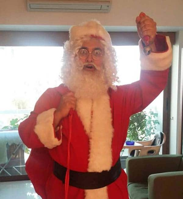 Image result for aamir khan santa