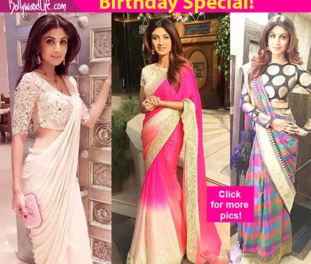 Sexy Pics That Prove Shilpa Shetty Has The Perfect Body For A Saree
