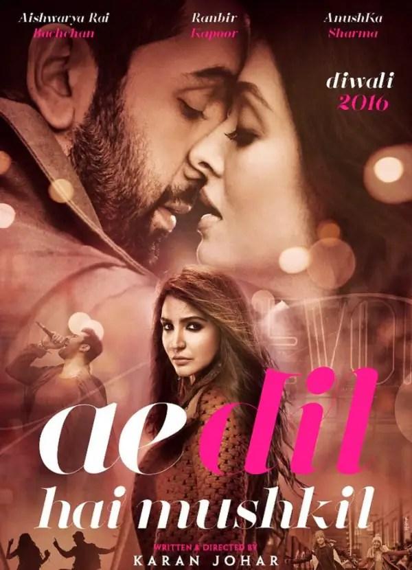 Poster do filme Ae Dil Hai Mushkil