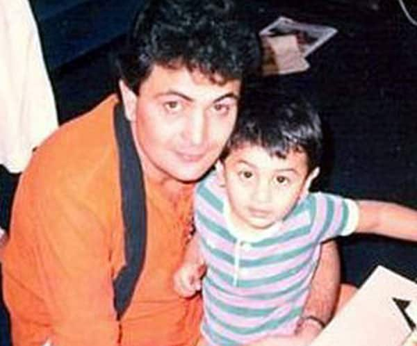 Image result for ranbir kapoor childhood