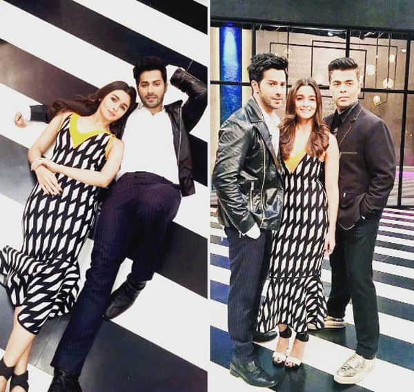 Image result for varun dhawan's impression of hritik roshan on koffee with karan