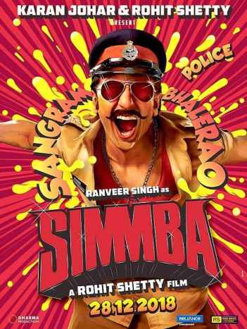 Image result for Simmba 2018 poster