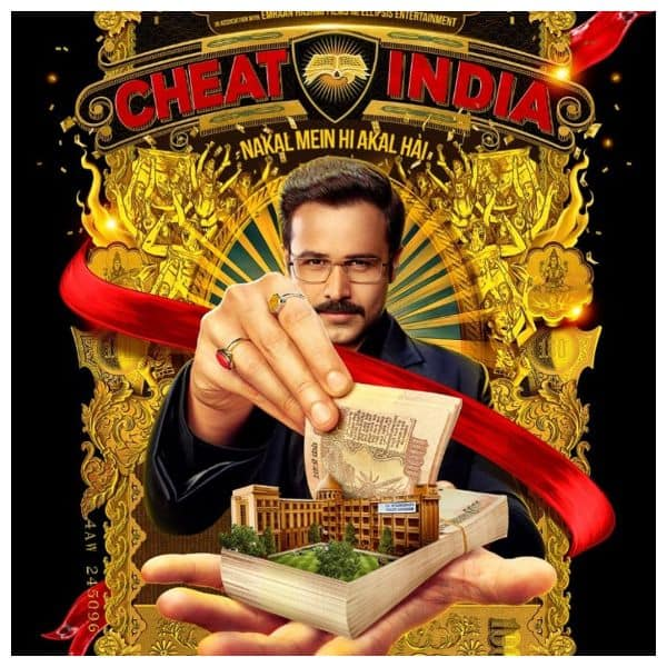 Cheat India new poster: Emraan Hashmi is ready to cheat but with the old Rs 1000 notes!