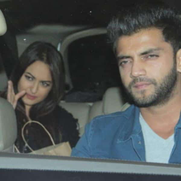 Image result for sonakshi with  zaheer iqbal