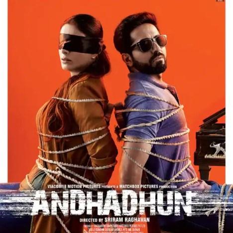 Andhadhun - best Hindi movies on Netflix India