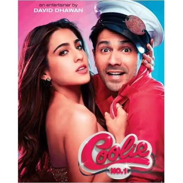 Upcoming Bollywood movies coolie no 1 remake