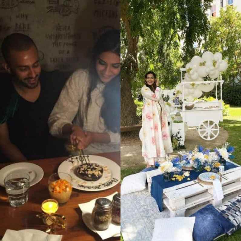 Sonam Kapoor celebrates Anand Ahuja's birthday with an outdoor picnic that is as fancy as it can be