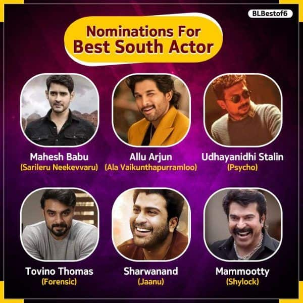 Allu Arjun, Mahesh Babu, Mammootty – VOTE for the Best South Actor of first half of 2020 7