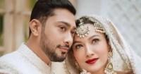 Gauahar Khan turns makeup artist for Zaid Darbar before their wedding – watch video