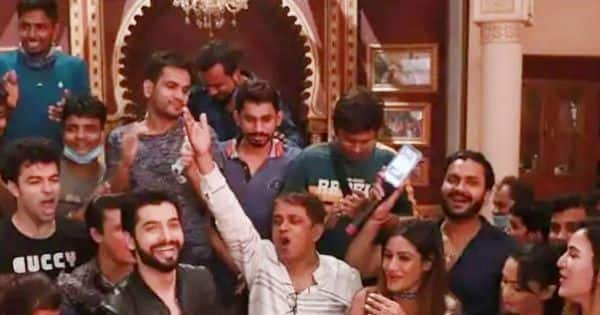 Naagin 5: Sharad Malhotra had the best birthday celebration on the sets of the show with Surbhi Chandna and others