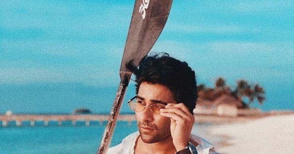 Aadar Jain shares throwback pic from beach holiday; Tara Sutaria comments, 'Take me with you'