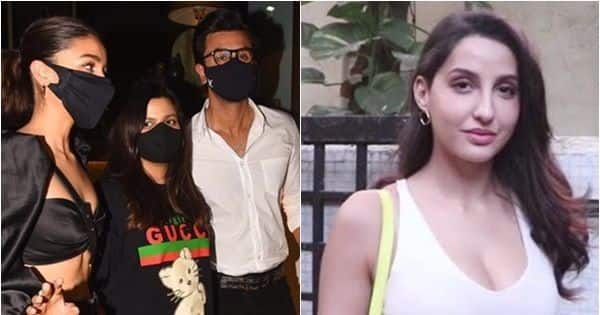 From Ranbir Kapoor-Alia Bhatt's joint appearance at Deepika Padukone's birthday to Nora Fatehi's salon visit, 5 images that made everyone's eyes pop out