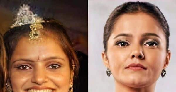Rubina Dilaik's then and now picture leaves her fans in awe of her incredible physical transformation
