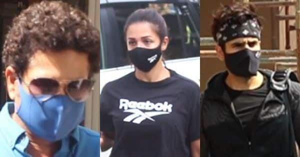 Bollywood News – Spotted: Sachin Tendulkar's clinic visit, Malaika Arora's yoga prep, Karan Tacker's gym session