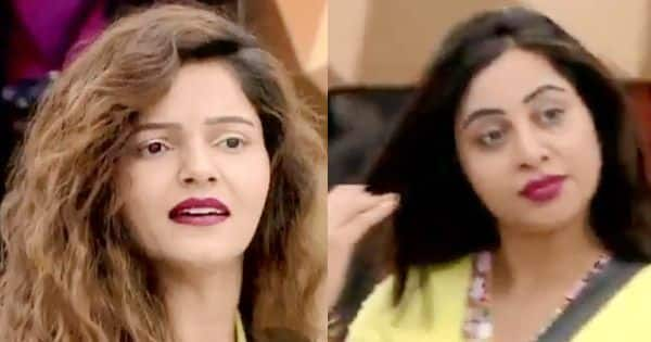 'Miss headless chicken,' says Rubina Dilaik as she gets into a nasty fight with Arshi Khan