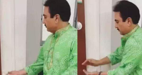 Dilip Joshi aka Jethalal shares a hilarious video showing the side effects of not so new normal