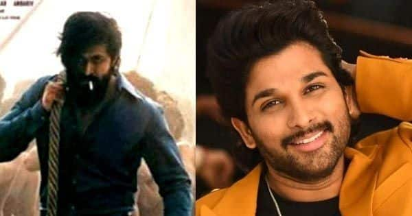 Yash's KGF 2 teaser, Allu Arjun becomes the second Tollywood star to cross 10 million Instagram followers