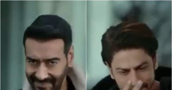 'The crossover nobody wanted,' Shah Rukh Khan's appearance in Ajay Devgn's new pan masala ad sparks hilarious meme fest