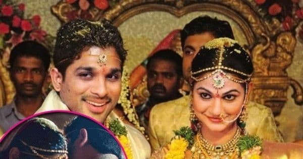 Allu Arjun and Sneha Reddy wedding photos are straight out of a fairtytale – View pictures