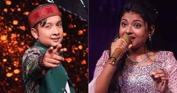 Pawandeep Rajan and Arunita Kanjilal win hearts with their Holi special performances