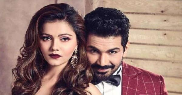 Abhinav Shukla gives the latest UPDATE on Rubina Dilaik's health and reveals her MESSAGE before he leaves for Cape Town [EXCLUSIVE]