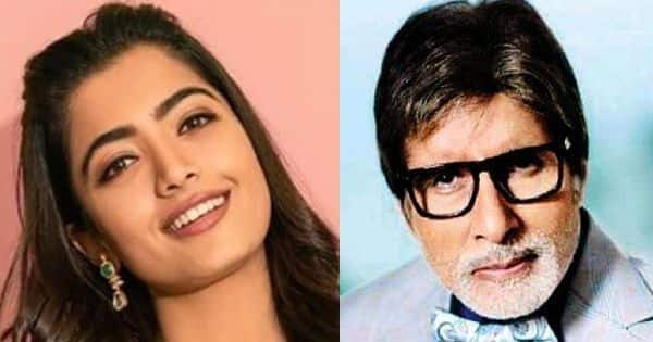 Rashmika Mandanna begins shooting for Ekta Kapoor's film with Amitabh Bachchan