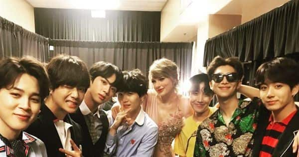 When Talyor Swift had her BTS fangirl moment at the 2018 Billboard Music Awards