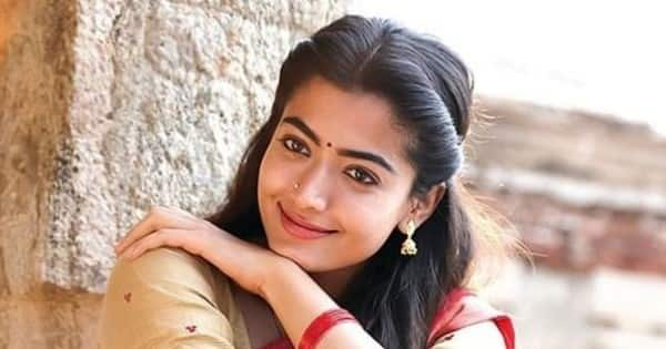 'Karnataka Crush' Rashmika Mandanna shares the super cute pic with her heart stealer