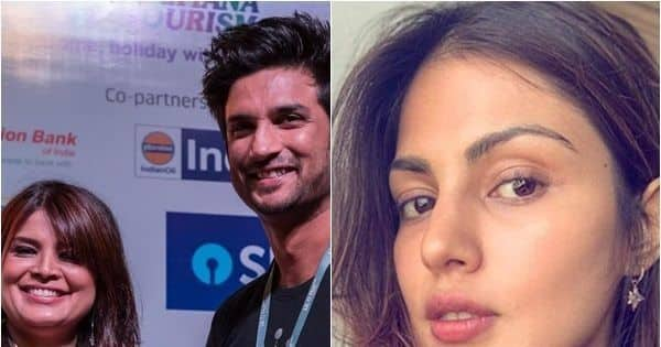 Sushant Singh Rajput's friend Smita Parikh claims Rhea Chakraborty dated Aditya Roy Kapoor before meeting SSR