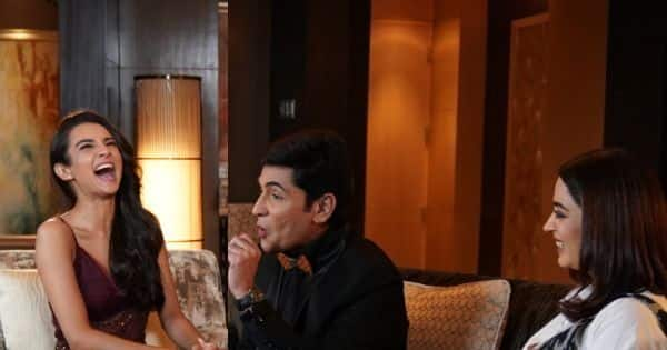 Is Nehha Pendse intimidated to work with Aasif Sheikh in Bhabhiji Ghar Par Hai? Watch her reveal this and a lot more to host Ira Dubey on A Table For Two Season 2 Episode 9