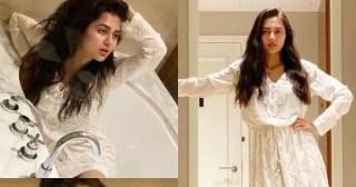 Tejasswi Prakash stuns in white in her latest set of clicks – view pics