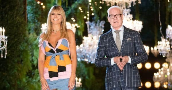 Supermodel Heidi Klum returns for the ultimate fashion showdown with an Indian connect
