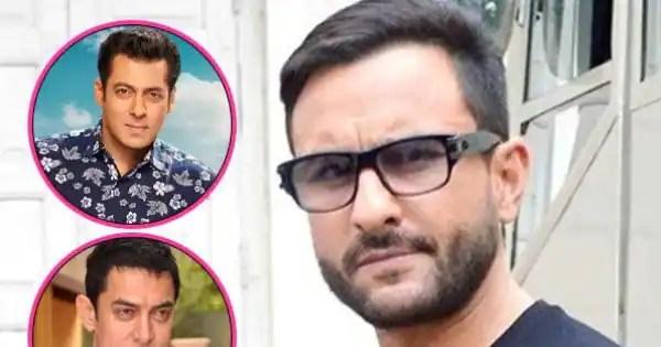 Saif Ali Khan REACTS to Shah Rukh Khan, Salman Khan and Aamir Khan being more successful than him