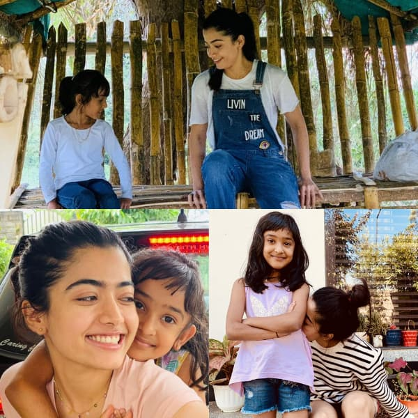 Pushpa actress Rashmika Mandanna has the sweetest birthday wish for her  sister – view pic