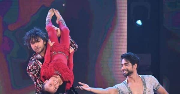 Awestruck by contestant Sprihaa Kashyap, Terence Lewis joins her on stage for a special performance
