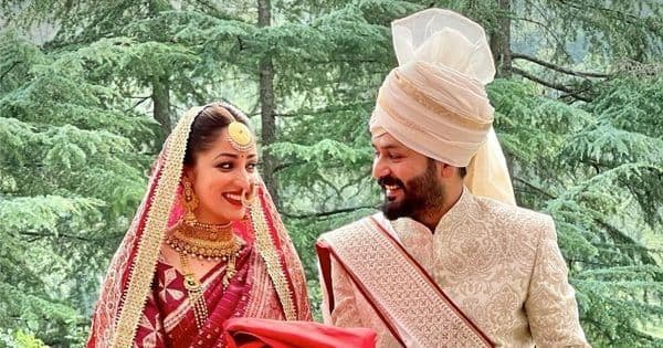 Yami Gautam gets married to Uri director Aditya Dhar in a private ceremony – view pic