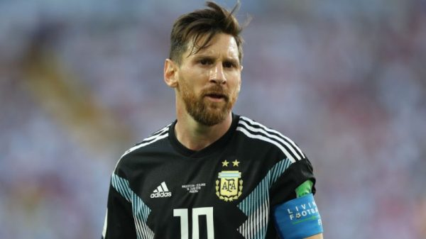 Argentina Captain Lionel Messi to Receive World Cup ...