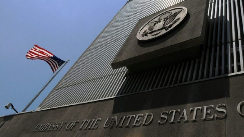 us embassy 784x441 - Iran-US Tension Escalates, United States Orders All Non-Essential Staffs Out of Iraq