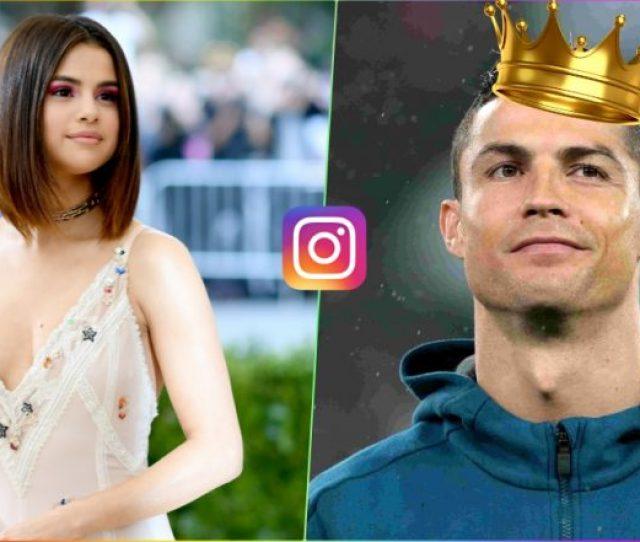 Cristiano Ronaldo Overtakes Selena Gomez As Instagrams Most Followed Person Check Top 10 List