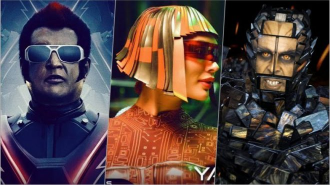 2.0 Movie Third 3rd Day 1st Saturday Box Office Collection
