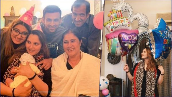 Sania Mirza Celebrates 32nd Birthday With Son Izhaan ...