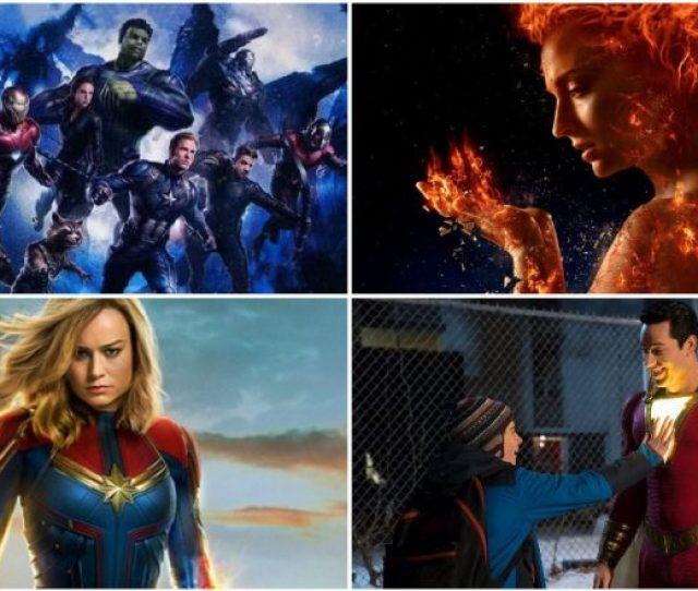 Avengers Endgame Captain Marvel Shazam  Superhero Movies We Are Super