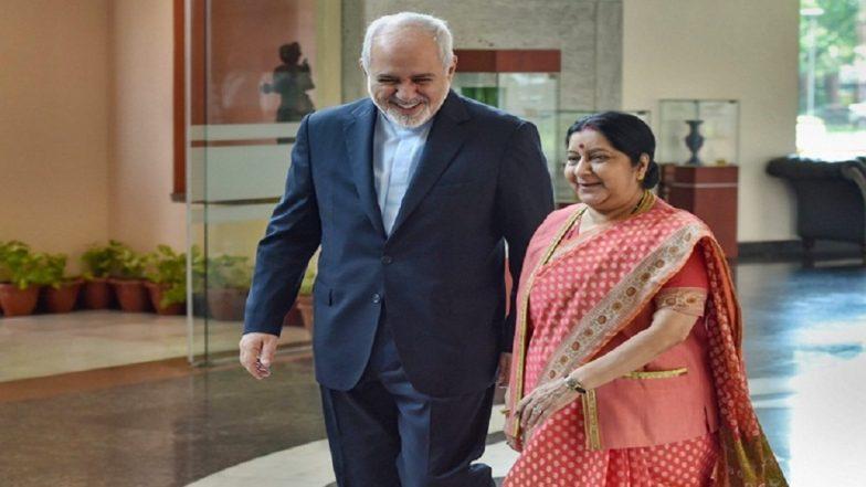 Javad Zarif Sushma Swaraj PTI 784x441 - India to Decide on Oil Imports From Iran After Lok Sabha Elections 2019: Sushma Swaraj Conveys to Javad Zarif