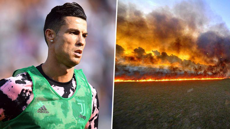 Cristiano Ronaldo 5 784x441 - Cristiano Ronaldo Posts Wrong Image of Amazon Forest Fire in His #PrayForAmazonia Message on Social Media