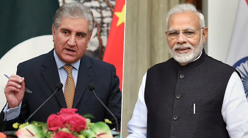 Shah Mehmood Qureshi Narendra Modi - Pakistan Rejects India's Request, Will Not Allow Narendra Modi's US-Bound Plane to Fly Over its Airspace: Shah Mehmood Qureshi