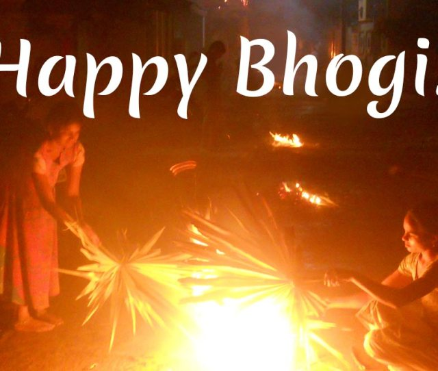 Happy Bhogi  Wishes Whatsapp Stickers Hike Image Messages