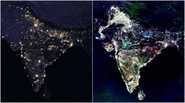 'Fake' NASA Satellite Images of India During 'Diwali' Go ...
